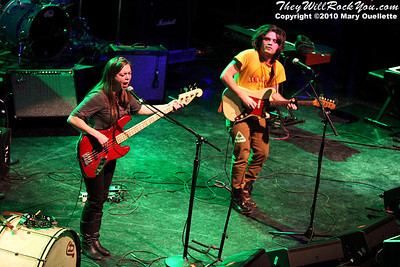 The Low Anthem performs at the Hot Stove Cool Music Benefit Show in Boston at the House of Blues on January 9, 2010
