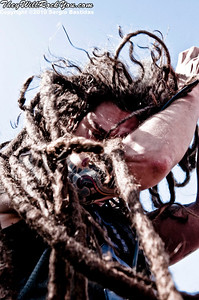 Shadows Fall performs live on the main stage at The Mayhem Fest in San Bernardino, Calif. on Saturday afternoon, July 10, 2010. (Photo by Sergio Bastidas/Sini69 Photography, ©2010)