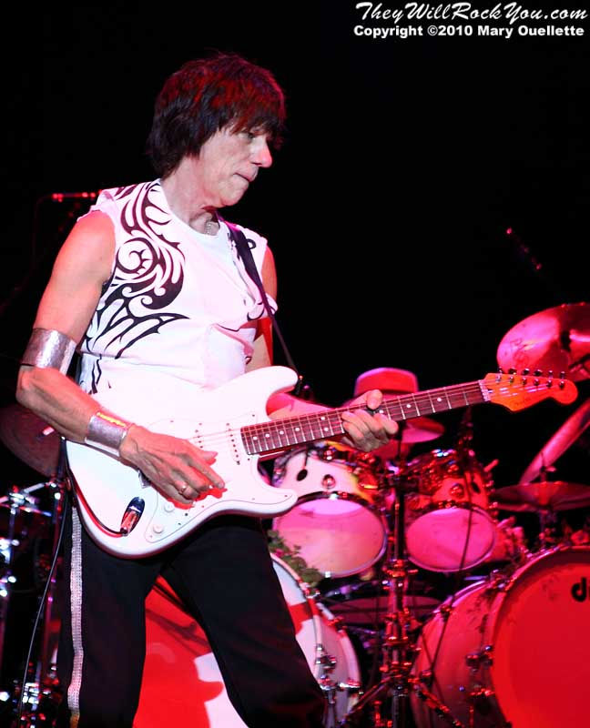 Jeff Beck performs at The Beale Street Music Festival in Memphis, TN on April 30, 2010.