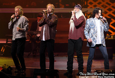 "The Oak Ridge Boys performing at the ""Kenny Rogers the First 50 Years Television Special"" Concert at The MGM Grand Theater in Mashantucket, CT on April 10, 2010"