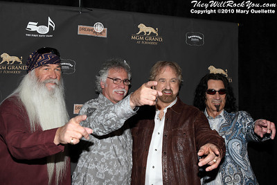 "The Oak Ridge Boys on the red carpet for ""Kenny Rogers the First 50 Years"" Television Special at The MGM Grand Theate rin Mashantucket, CT on April 10, 2010."