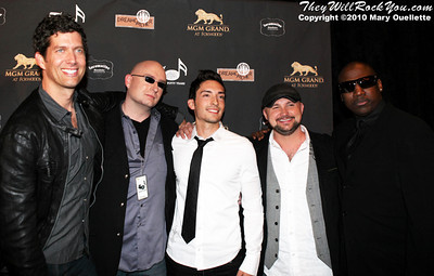 "Better Than Ezra on the red carpet for ""Kenny Rogers the First 50 Years"" Television Special at The MGM Grand Theate rin Mashantucket, CT on April 10, 2010."