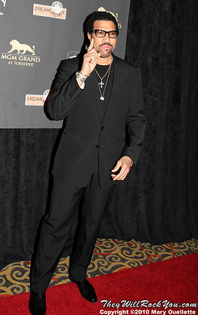 "Lionel Richie on the red carpet for ""Kenny Rogers the First 50 Years"" Television Special at The MGM Grand Theate rin Mashantucket, CT on April 10, 2010."