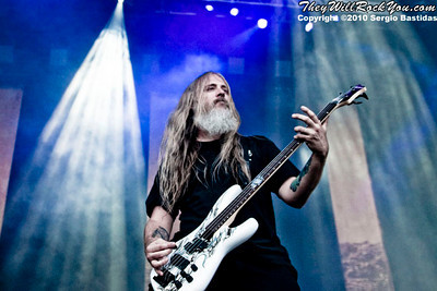 Lamb of God performs live on the main stage at The Mayhem Fest in San Bernardino, Calif. on Saturday afternoon, July 10, 2010. (Photo by Sergio Bastidas/Sini69 Photography, ©2010)