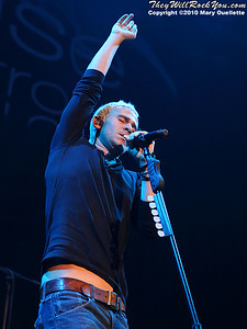Lifehouse performs at The Agannis Arena on March 20, 2010 in Boston, Massachusetts