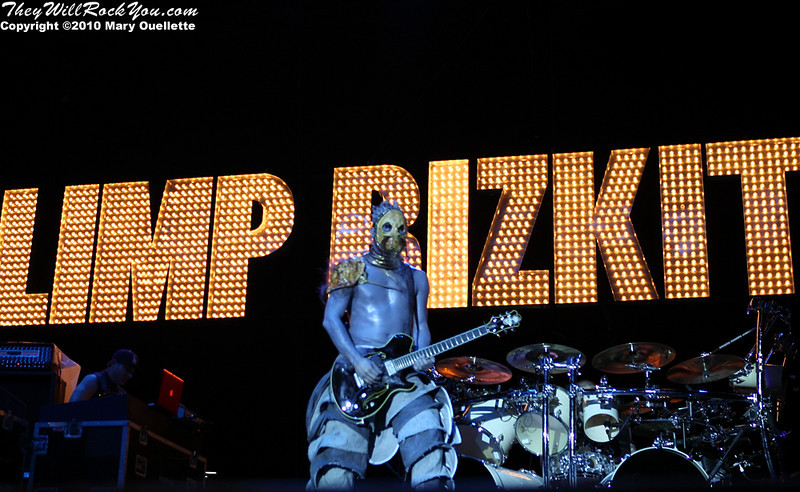 Limp Bizkit perform at The Beale Street Music Festival in Memphis, TN on April 30, 2010.