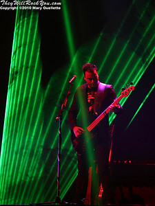 Muse performs at the TD Garden on March 6, 2010 in Boston, Massachusetts