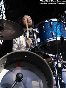 MuteMath perform at The Beale Street Music Festival in Memphis, TN on April 30, 2010
