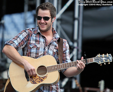 Easton Corbin performs on August 21,2010 at the 7th Annual New England Country Music Festival at Gillette Stadium in Foxboro, Massachusetts.
