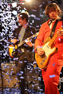 OK Go perform at Pearl Street Night Club in Northampton, MA on April 27, 2010.