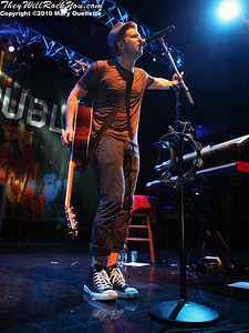 """OneRepublic perform in support of """"Waking Up"""" on July 9, 2010 at the House of Blues in Boston, Massachusetts."""