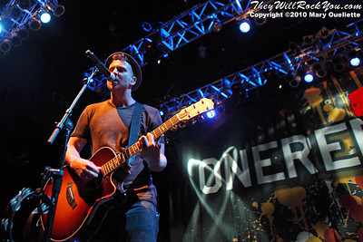 "OneRepublic perform in support of ""Waking Up"" on July 9, 2010 at the House of Blues in Boston, Massachusetts."