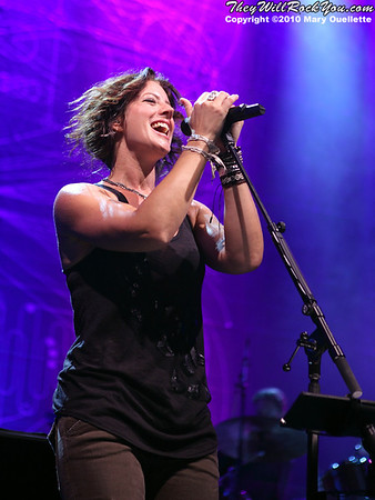 Sarah McLachlan performs on July 30, 2010 during Lilith Fair at the Comcast Center in Mansfield, Massachusetts.