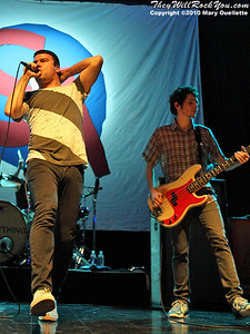 Say Anything (With special guest Kenny Vasoli performing at The House of Blues in Boston, MA on November 8, 2010.