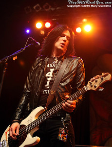 Todd Kerns performs with Slash  at the House of Blues on September 15, 2010 in Boston, Massachusetts.
