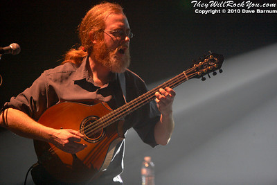 Railroad Earth performs at snoe.down 2010.  Photo by Dave Barnum
