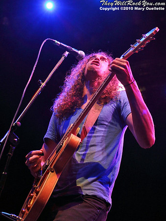 Taddy Porter performs at the House of Blues in Boston, MA on September 15, 2010.