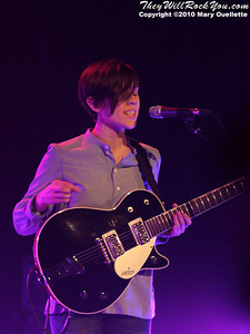 Tegan and Sara kick off their Sainthood 2010 tour at the Calvin Theater on February 12, 2010 in Northampton, MA