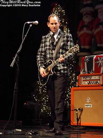 The Mighty Mighty Bosstones perform on December 28, 2010 for their 13th Hometown Throwdown  at the House of Blues in Boston, Massachusetts
