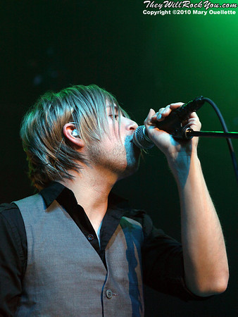 The Rocket Summer (Bryce Avary) performs at The Casino Ballroom in Hampton Beach, New Hampshire on April 15, 2010.