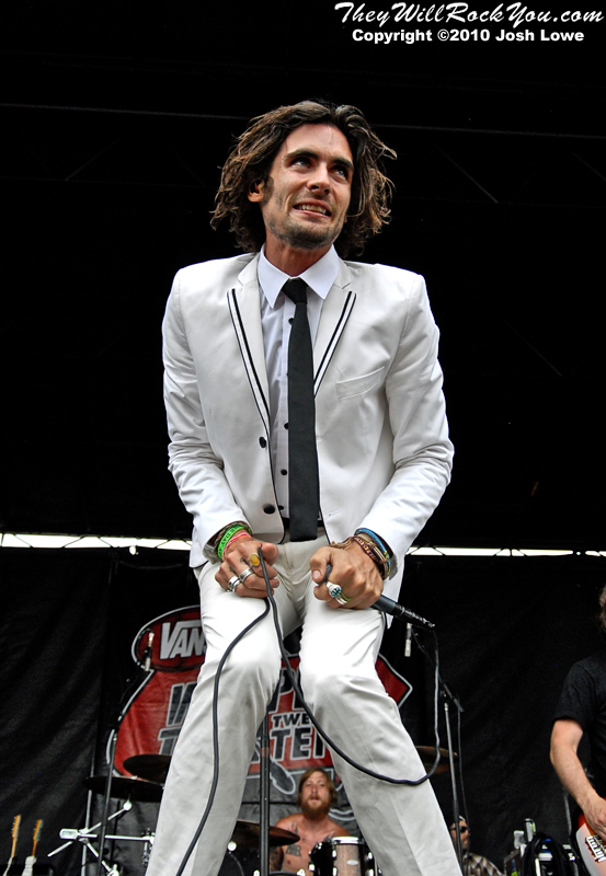 The All-American Rejects at the Mansfield, MA Warped Tour stop.