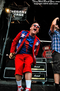 Reel Big Fish at the Mansfield, MA Warped Tour stop.