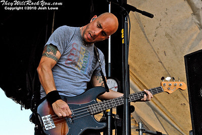 Alkaline Trio at the Hartford, CT Warped Tour Stop.