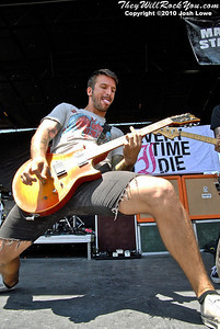 Every Time I Die at the Hartford, CT Warped Tour Stop.