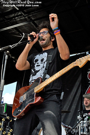 Motion City Soundtrack at the Hartford, CT Warped Tour Stop.