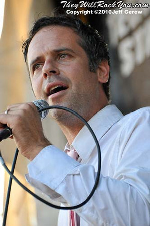 The Bouncing Souls perform at Warped Tour 2010 in Darien Center, NY.