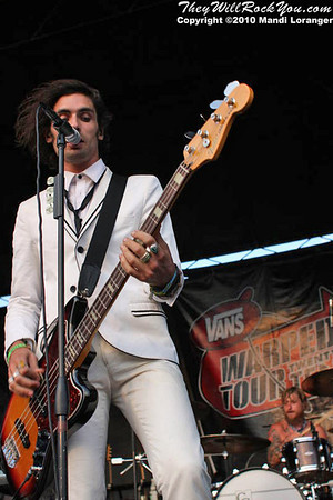 The All-American Rejects at the Camden, NJ Warped Tour Stop.