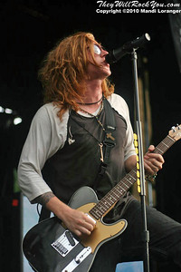 We The Kings performing at the Warped Tour stop in Columbia, MD.