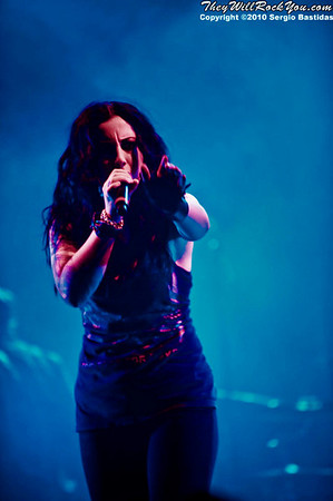 We Are The Fallen performing live at The Wiltern in Los Angeles, Calif. on Friday night, April 23, 2010. (Photo by Sergio Bastidas/Sini69 Photography, Brooks Institute, ©2010)