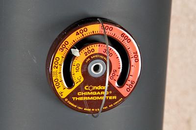 Chimgard Thermometer