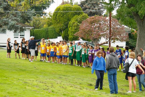 Franklin:  7th & 8th Grade Race