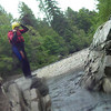 Tube/Cliff Jumping on the River Findhorn with Ace Adventures