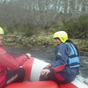Mild Rafting on the Middle Section of the Findhorn River with Ace Adventures