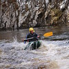 Stag Rafting and Canoeing on the Middle Section of the River Findhorn