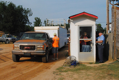 County Line Raceway, August 21, 2010