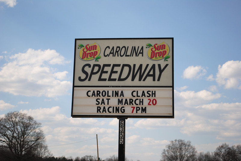 welcome to Carolina Speedway in Gastonia NC