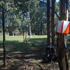 Rogaine course setting in the snow, Tantangara Dam area, NSW, 9/10/10
