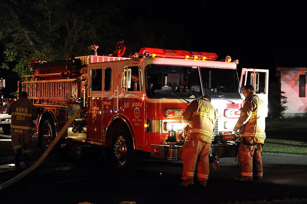 6/25/2010 House Fire in St. Inigoes