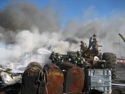 South Street, Wrentham - Working Fire: February 5, 2010