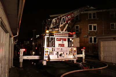 Photo's from Clifton 3rd Alarm Day St. Garden Apartment Complex 3-28-10