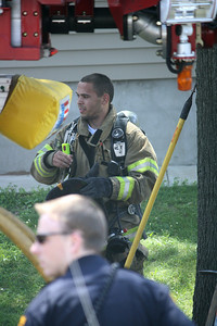 Photo's from East Rutherford 2nd alarm Basement Fire 300 Hobboken Rd. 6-19-10