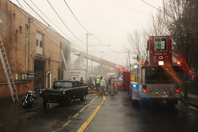Photo,s from  East Rutherford 3rd alarm 2 story wherehouse Herman & Grove 3-30-10