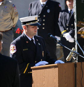 East Rutherford Firefighter Memorial Service 10-2-10