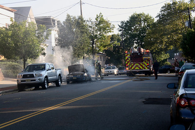 Photos from East Rutherford (car fire) Park Ave. 6-27-10
