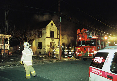 Photo's from Hasbrouck Heights 2nd alarm Columbus Ave. 21:50hrs. 1-3-10