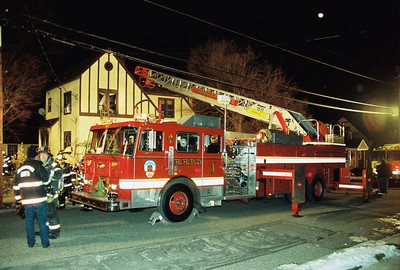 Hasbrouck Heights 2nd alarm Columbus Ave. 21:50hrs. 1-3-10